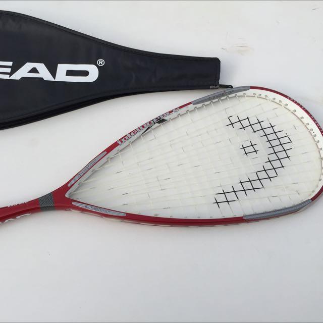 Head IX130 Extreme Intellifiber Squish Racquet With Case