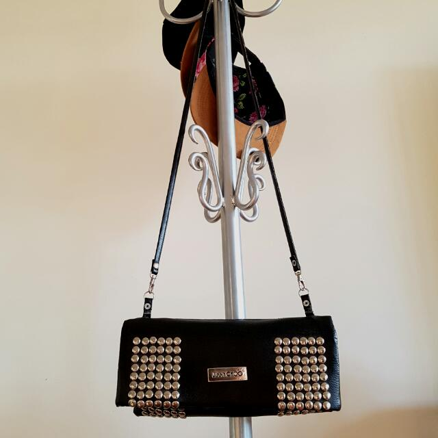 JIMMY CHOO inspired studded side bag