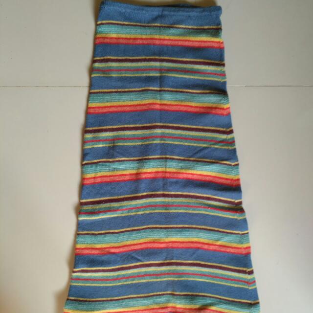 Knit A Line Skirt