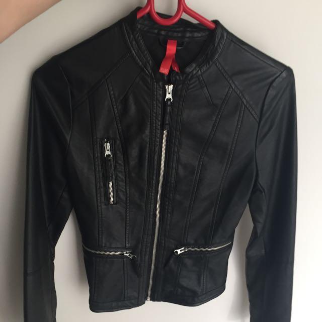 Leather Jacket Size 6