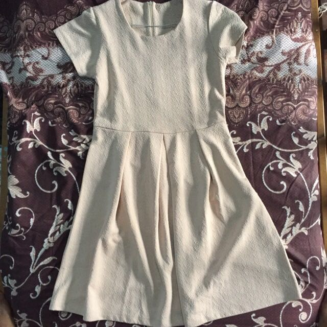 Light brown pattern Dress