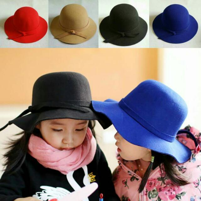 e0764860ad0 Little Girls Summer Small Brimmed Floppy Hat