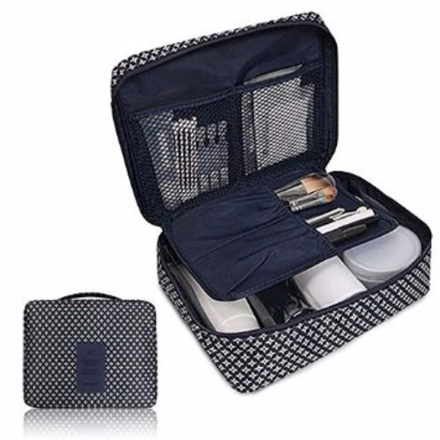 Multi-Pouch Cosmetic Makeup Toiletry Bag Travel Kit Organizer Pouch B10005
