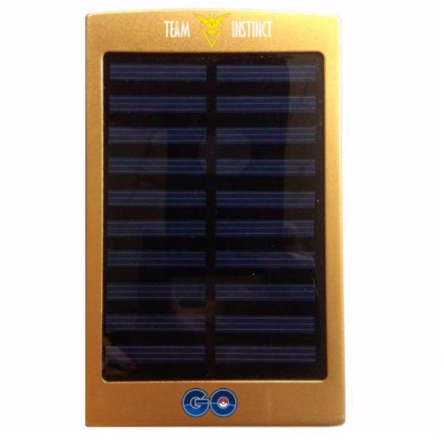 Pokemon Go! - Team Instinct Solar Power Bank