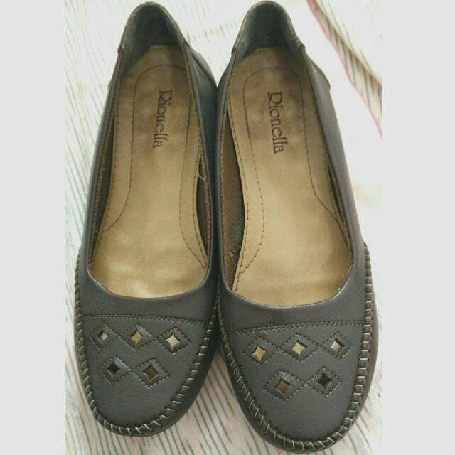 (Reprice) Preloved Rionella Shoes Dark Brown