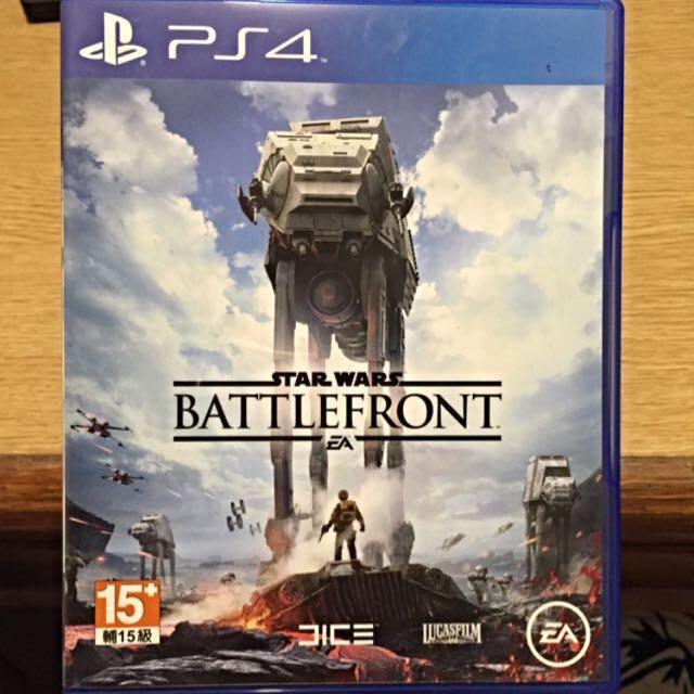 PS4-2片便宜賣(星際大戰、鋼彈破壞者)都是中文版