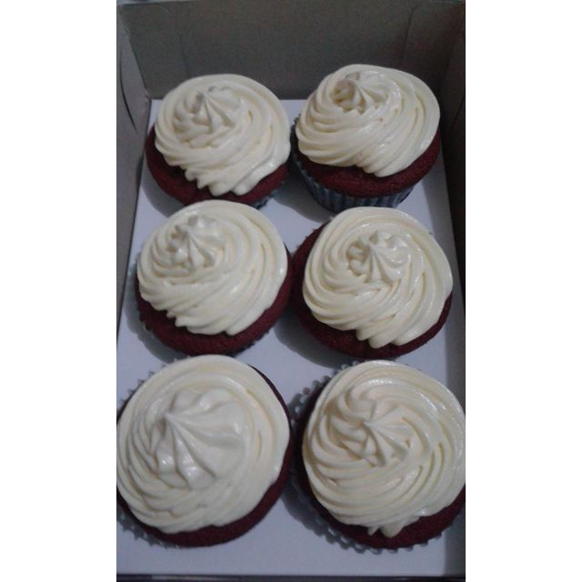 Red Velvet Cupcakes (Box of 6)
