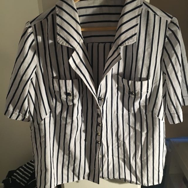 Retro Striped Top