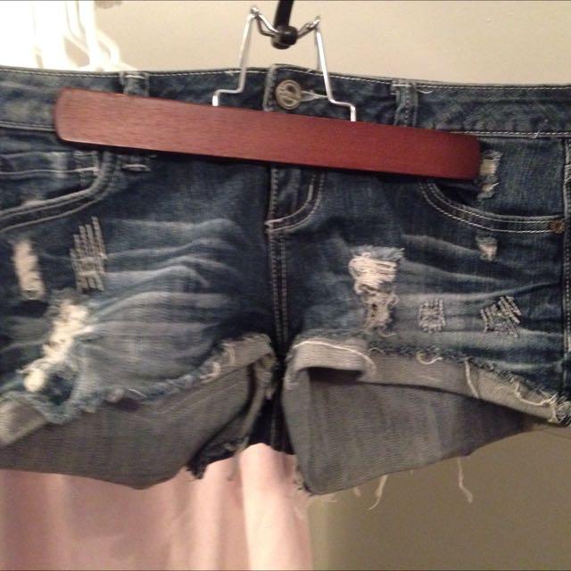 Small Jean Shorts