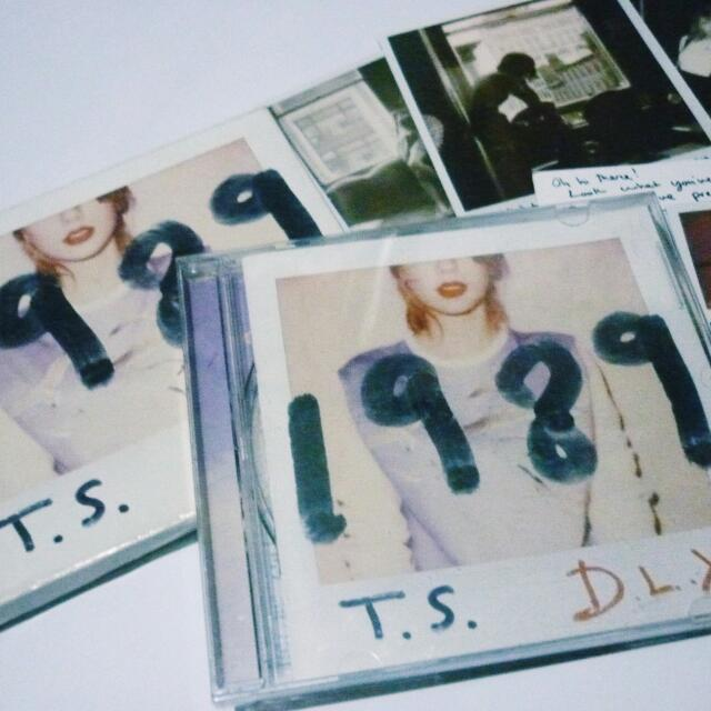Taylor Swift 1989 Deluxe Target Exclusive Original Album From USA