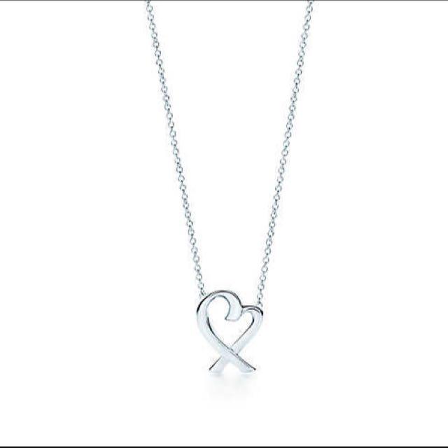 Tiffany & Co. Paloma Picasso Loving Heart Pendant Necklace