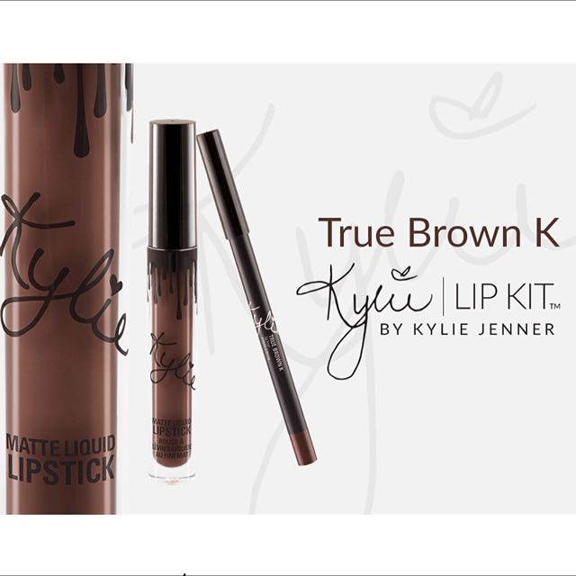 True Brown K original Kylie matte lipstick