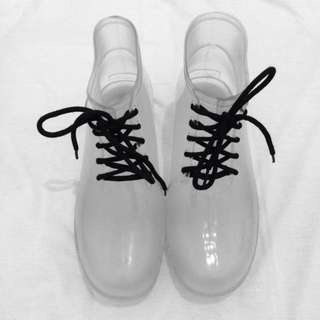 Clear Jelly Boots