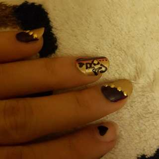 Less Prices#Nail Art Session Till September Mid