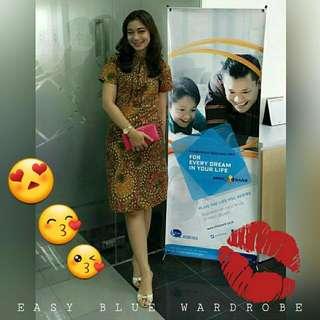 THANK YOU MY LOVELY CUSTOMER 😍😙😘 Wearing Batik Dress With Obi