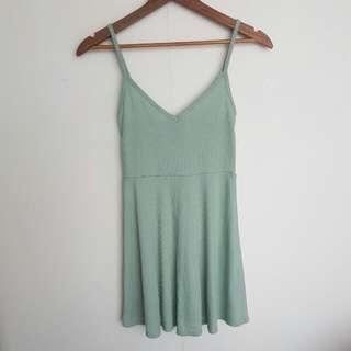 Pastel Green Dress