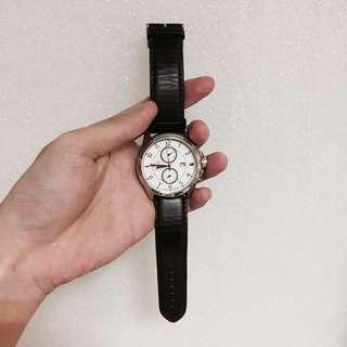 Tommy Hilfiger 皮革手錶、正品