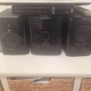 Thomson cd / Bluetooth / iPhone 4 stereo