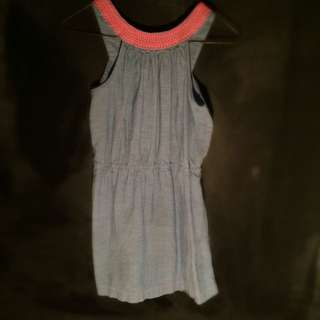 Denim Coloured Dress