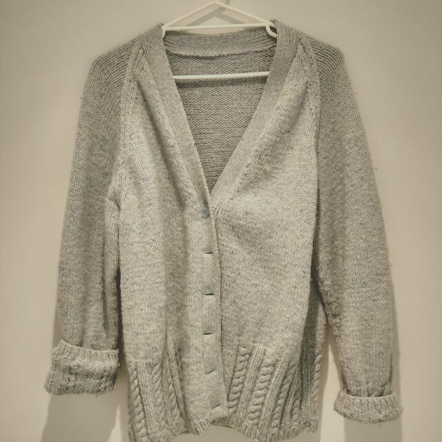 100%Aus Wool Cardigan