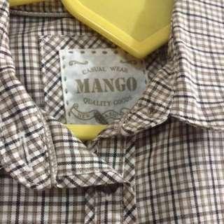 Mango Polo Shirt Size M