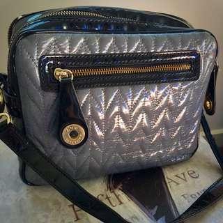 Wittner Grey, Black & Gold Cross body Bag
