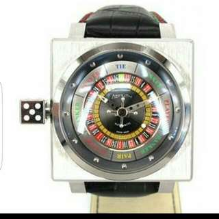 Azimuth King Casio . Roulette Bacarrat Styled Limited Watch ( 2 Straps ) number 84