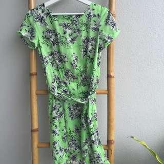 Spring Dress w/ Split Back