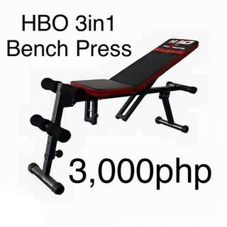 NEW multi Use Bench dumbbell Press Add Ons Dumbells And Plates