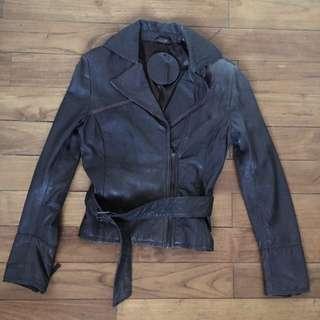 STRADIVARIUS | Real Leather Jacket