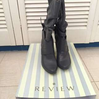 Review Leather Boots