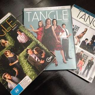 Tangle TV Series DVDs, All 3x Seasons