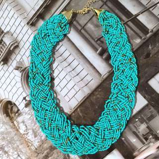 Statement Necklace Turquoise/Blue