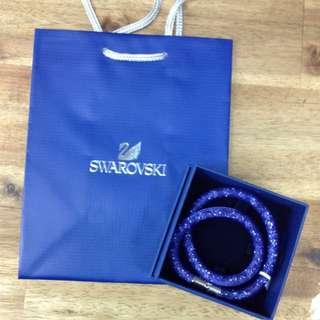 Purple Stardust Double Bracelet