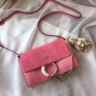 New Chloe handbags Faye Women Bags with logo Shoulder Bags  Female Leather Hot Messenger Vintage Bolsas Designer