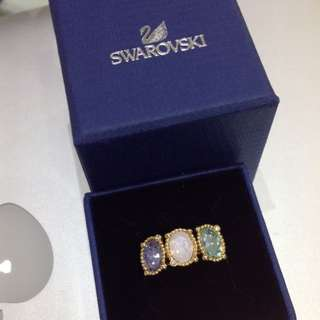 Swarovski Rosette Ring Size 52