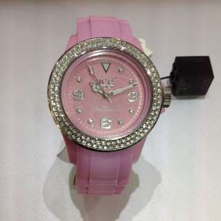 Ice Pink Silicon Watch