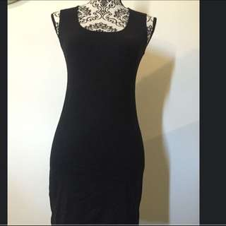 Black Bodycon Dress Size 8
