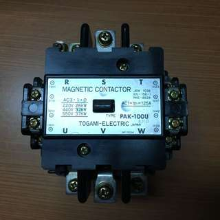 Togami Electric Magnetic Contactor