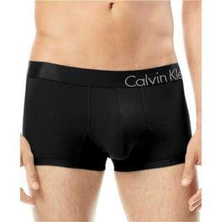 真品 Calvin Klein CK U8908 男四角內褲 黑色S號