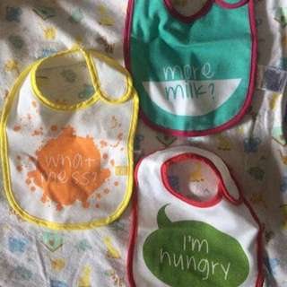 Gently Used Mothercare Bibs (3 for 400)