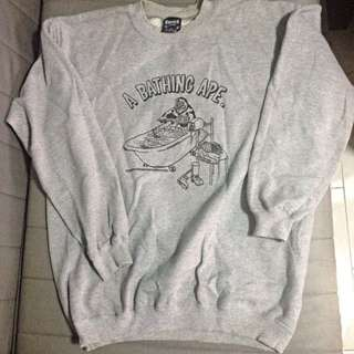 A Bathing Ape sweater by Fuct