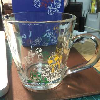 a la sha全新玻璃杯含店到店