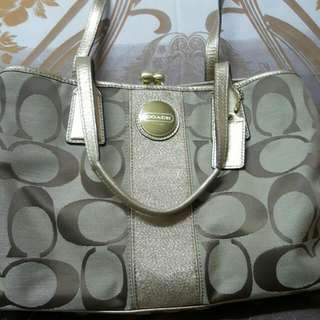 Authentic Coach Bag. Price Marked Down From $120 To $80.