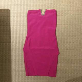 Size XS Authentic Guess Boobtube Bodycon Dress