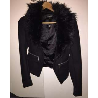 Gasp Jacket With Fur