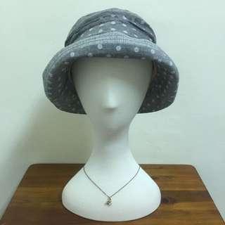 韓國空運 點點繞邊個性風帽子