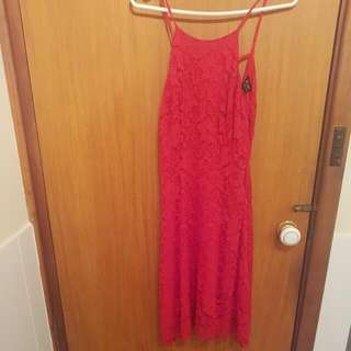 🆕 BNWT Bardot Red Dress Size 8