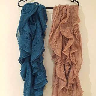 Sportsgirl Knitted Scarves