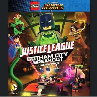 LEGO Justice League Gotham City Breakout Blue Ray Only